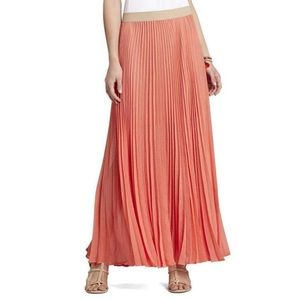 BCBGMaxazria Estel Tangelo Orange maxi skirt S